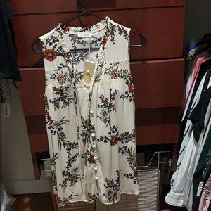 NWT button down dress